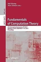 Fundamentals of Computation Theory: 21st International Symposium, FCT 2017, Bordeaux, France, September 11-13, 2017, Proceedings