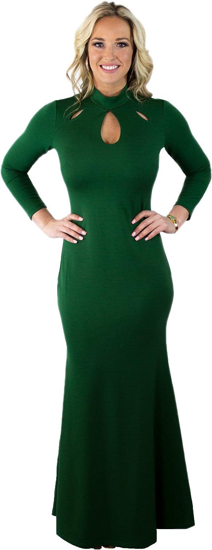 Charm Your Prince Women's Semi Formal Long Sleeve Dress