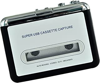 USB Cassette Capture Tape to PC USB MP3 Converter Adapter Audio Music Player