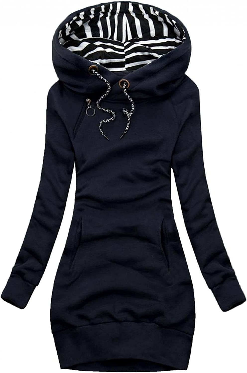 Womens Fashionable Sweatshirts discount Long Sleeve Pullover with Tops Hoodies Pocket