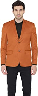 WINTAGE Men's Polyester Solid Smart Casual Office Blazer : 8 Colors