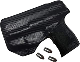 Elite Force Holsters: Audible Click, Kydex Holster for Sig Sauer P365 with Lima Laser Lima 365 - Carbon Fiber, Right Hand