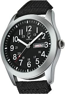 Mens Quartz Waterproof Calendar Watch Fashion Sports Casual Military Nylon Strap Swimming Business Watch