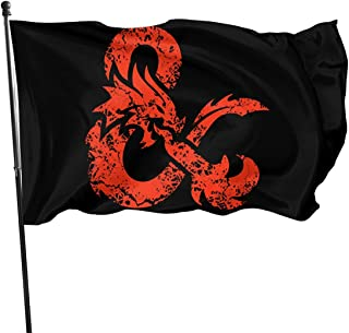 American Fly Breeze 3x5 Foot Flag - Dungeons & Dragons (Red Aged)