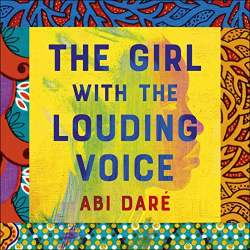 The Girl with the Louding Voice audiobook cover art