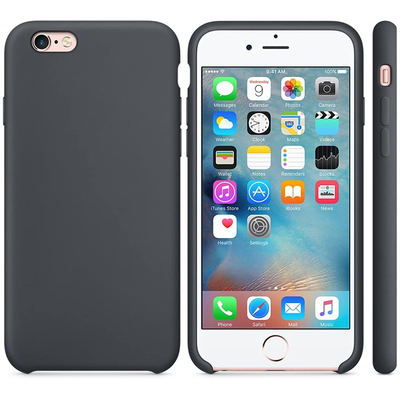 iPhone 6s Case, AutumnFall Fashion Ultra-thin Silicone Case Cover Skin For iPhone 6S/ 6 4.7inch
