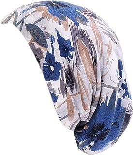 IPOTCH Womens Bandana Scarf Satin Lined Chemo Hat Beanie, Turban Headwear for Cancer