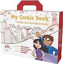 Lulu Jr. My Comic Book Making Kit, Multicolor