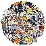 Elibeauty Naruto - Pegatinas de vinilo para ordenador portátil, botella de agua, bicicleta, coche, motocicleta, parachoques, monopatín, graffiti, el mejor regalo para niños