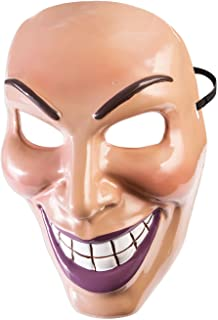 the purge smiling girl mask