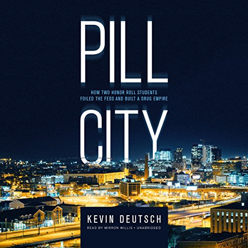 Pill City audiobook cover art