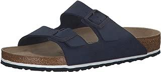 Birkenstock Arizona Desert Soil Blue Birko-Flor Adult Slides Sandals