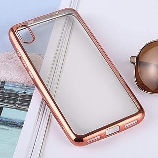 الحالات الهاتف المحمول لينة Ultra-thin Electroplating Soft TPU Protective Back Cover Case for Xiaomi Redmi 7A(Silver) حالا...