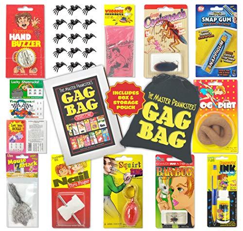 TASS The Master Prankster's Gag Bag Series One Prank Kit, Box, Pack, Gift, Set Funny Classic & New Novelties Jokes