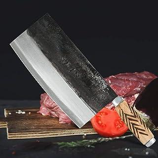 8 pouces en acier inoxydable 4cr13 Hacher Couteau forgé couteau de boucher Pro Couteau de cuisine Cuisine de cuisine Coute...