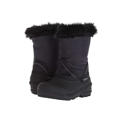 Tundra Boots Kids Okemo (Toddler) (Black) Girls Shoes