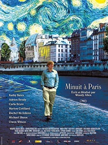 Minuit à Paris Affiche Cinéma Originale (Format 53x40 cm Pliée) Woody Allen 2011