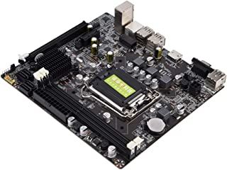 Kafuty - Placa Base Intel H61 LGA 1155 para Placa Base LGA 1155 DDR3 16 GB, Soporte 4 USB 2.0 / HDMI/VGA/MicroATX
