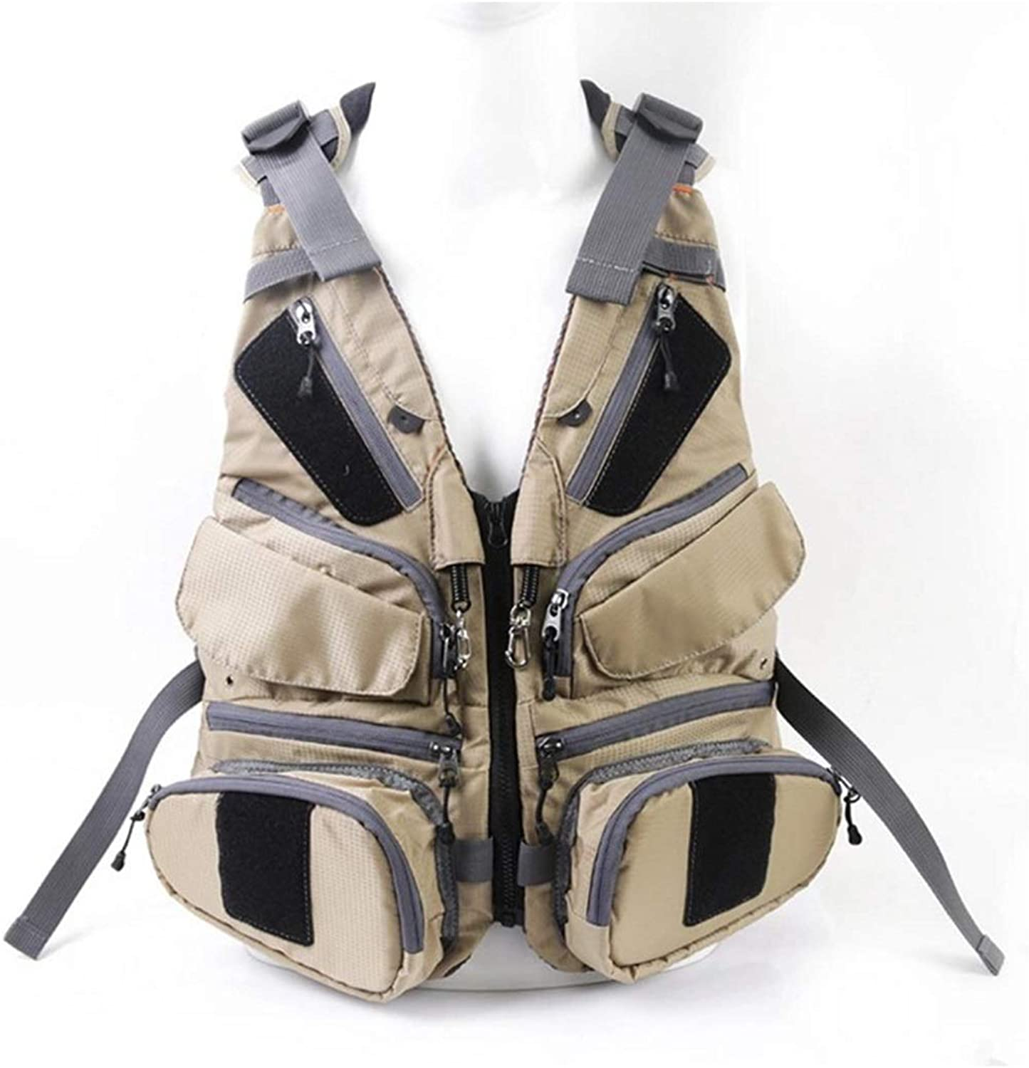 FELICIKK Fly Fishing Backpack Vest Combo Chest Pack for Tackle Gear and Accessories