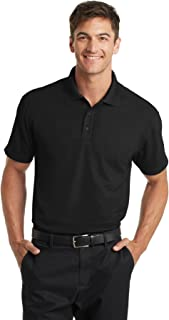 Port Authority Men's Performance Moisture Wicking Short Sleeve Polo Shirt
