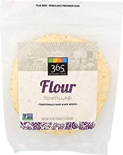 365 Everyday Value Flour Tortillas, 12 oz
