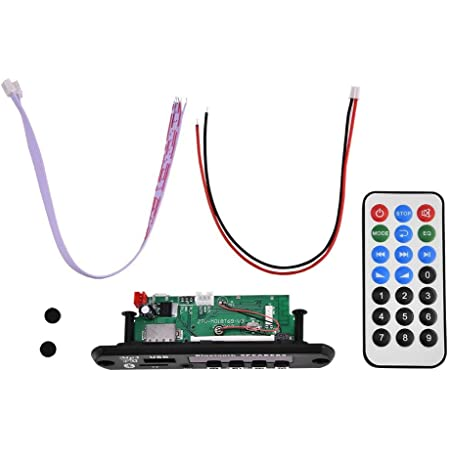 Bluetooth Mp3 Wma Decoder Board 12v Wireless Audio Module Support Usb Sd Fm Hands Free Call Auto