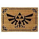 The Legend Of Zelda - Felpudo Triforce Black