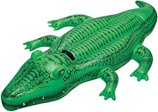 Intex Large inflatable alligator For Children, Green - 58546