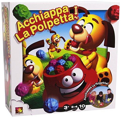 Rocco Giocattoli 21189142 - Acchiappa La Polpetta, Età consigliata  da 3 anni