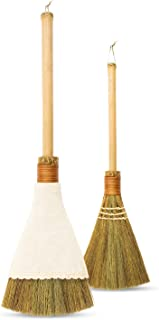 Natural Whisk Sweeping Hand Handle Broom - Vietnamese Straw Soft Broom for Cleaning Dustpan Indoor - Outdoor - Decoration ...