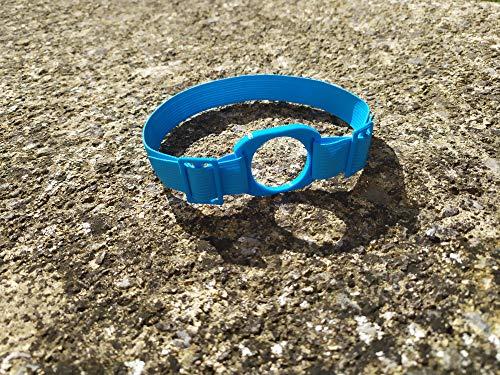 Brazalete protector sensor glucosa Freestyle Libre 2 LibreLink (Diabetes) (Azul)