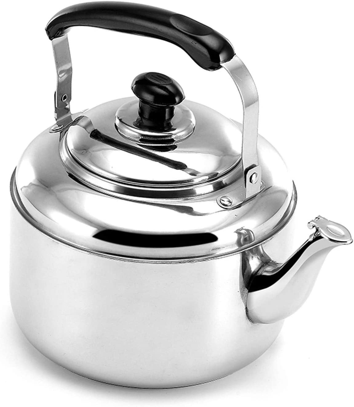 Large Capacity Long Beach Mall Whistle Tea sold out Kettle for Stove Top Heat-resis with