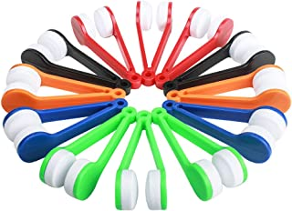 Ciaoed 12pcs Spectacle Glass Cleaner,Eyeglass Brush Cleaners