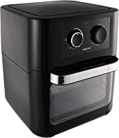 Sokany AF-003 Air Fryer with Nonstick Pan for Frying, 10 Liters - Black