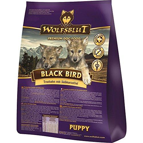 Wolfsblut - Black Bird Puppy - 500 g - Truthahn - Trockenfutter - Hundefutter - Getreidefrei