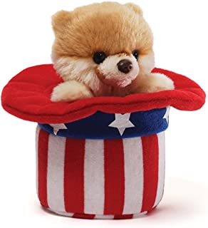 GUND Itty Bitty Red, White and Boo Plush
