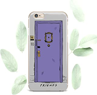 Convenient Cell Phone Case for Apple iPhone Art Design Silicone Durable Protective Clear Skin Cover Case, Monica's Door, for iPhone 7, iPhone 8