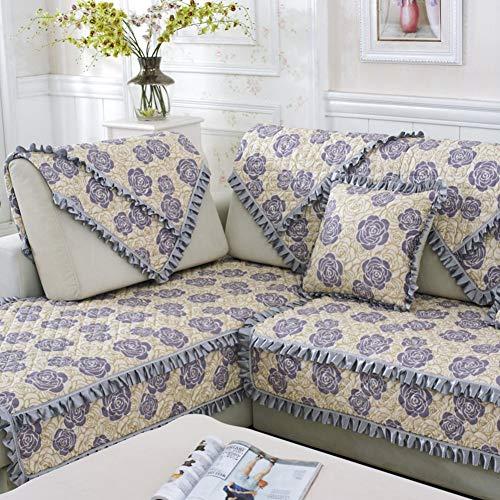 WTT 4-seizoenen stof/sofaplaid/dagdeken/sofa plaid/sofa plaid/sofa plaid eenvoudig en modern/B 70 x 70 cm (28 x 28 inch)