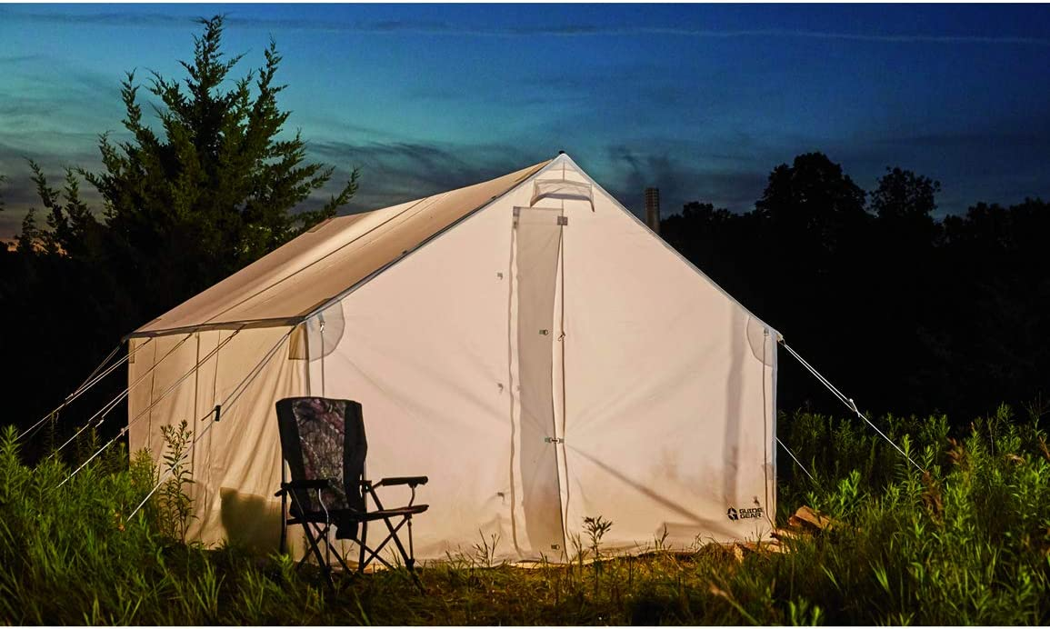 Guide online shop Gear 10x12' Max 50% OFF Canvas Wall Camping for Outdoor Hunting Tent