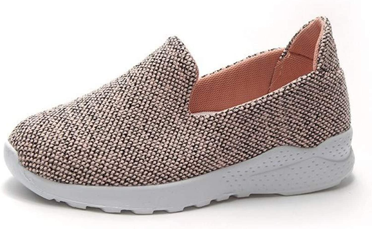 ZHIJINLI Casual shoes, sports shoes, shoes, lazy shoes, one foot, shoes, breathable, muffin, comfortable, 37EU