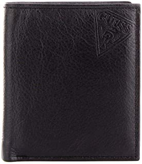 Luxury Fashion | Guess Mens SM2644LEA22NERO Black Wallet | Fall Winter 19