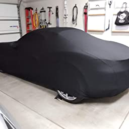 Black Satin Ultra Soft Indoor Material Guaranteed Includes Storage Bag Type 930 1975-1989 Indoor Car Cover Compatible with Porsche 911 Turbo