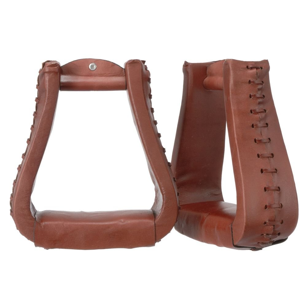 Tough Oversized Leather Stirrups Medium