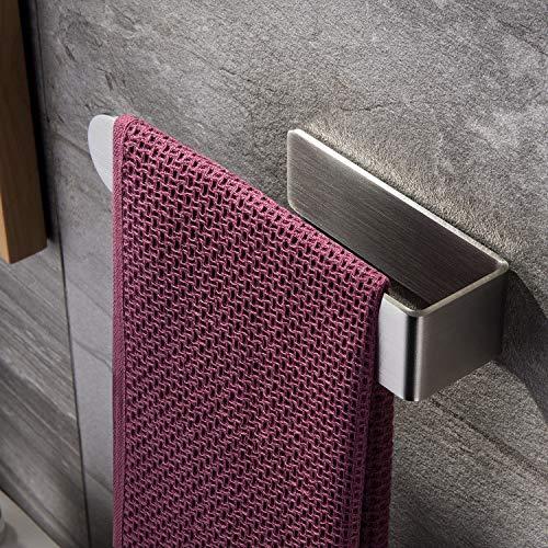 ZUNTO Handtuchring Selbstklebend Handtuchhalter Ohne Bohren Handtuchstange Edelstahl für Badezimmer und Küche