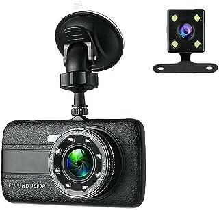 Dash Cam Camera voor Auto Voertuig rijden Recorder auto DVR Camera Dual Lens G-sensor HD 1080P Zwart, zeer handig in gebruik