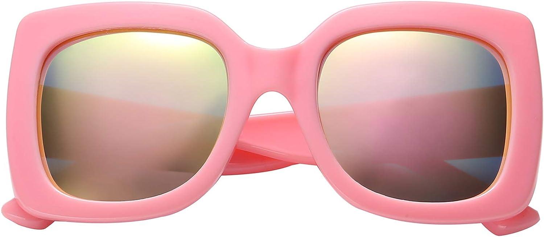 Polarspex Girls Elastic Square Max 55% OFF Polarized Sunglass Kids Oversized Choice