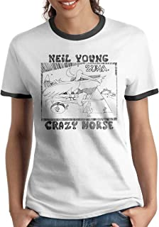 Neil Young Crazy Horse Zuma Sports and Fitness Womans Short Sleeve T-Shirt