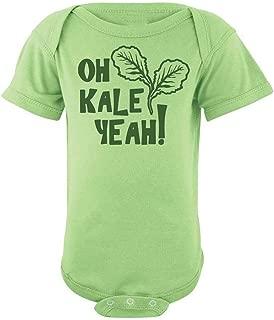 Baby Oh Kale Yeah ® Bodysuit - Funny Vegan Onesie