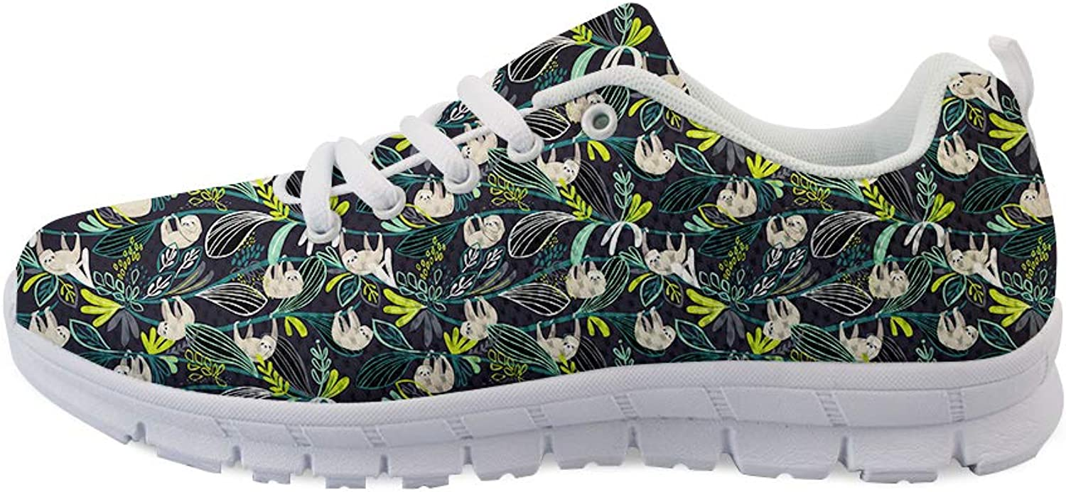 Owaheson Laceup Sneaker Training shoes Mens Womens Shaky Leisurely Sloth