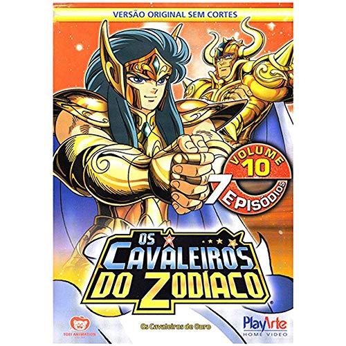 Os Cavaleiros Do Zodíaco - Volume 10